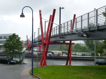 image: pedestrian bridge
