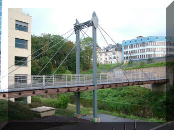 Footbridge, Luxembourg