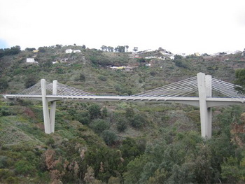 extradosed bridge, Canary Islands